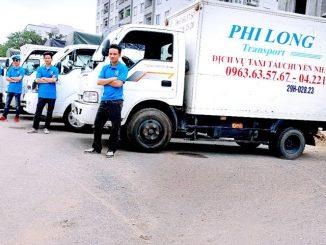 Cho thuê xe tải chở hàng tại phường Biên Giang