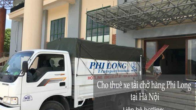 Taxi tải Phi Long tại phố Gầm Cầu