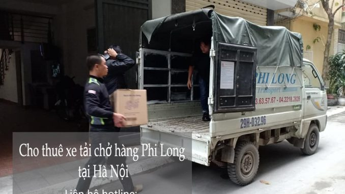 Dịch vụ taxi tải Phi Long tại phố Quỳnh Mai 2019