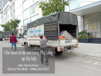 Dịch vụ taxi tải Phi Long tại phố Lê Thanh Nghị