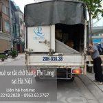 Taxi tải Phi Long tại phố Lê Quý Đôn