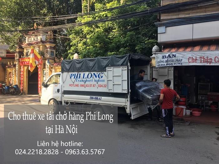 Dịch vụ taxi tải Phi Long tại phố Lương Yên