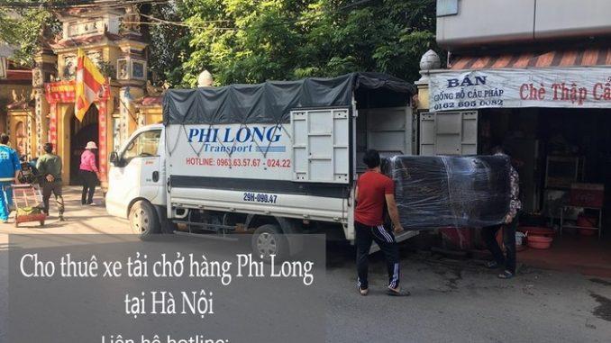 Taxi tải Phi Long tại phố Hòe Nhai