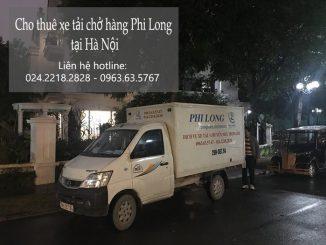 Dịch vụ taxi tải Phi Long tại phố Hoa Kim 2019