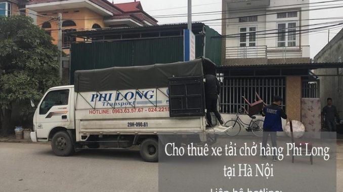 Taxi tải Phi Long tại phố Kim Quan Thượng