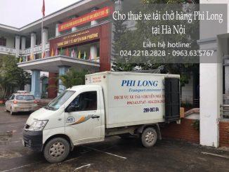 Dịch vụ taxi tải Phi Long tại phố An Xá 2019