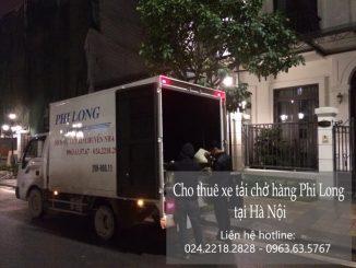 Dịch vụ Taxi tải Phi Long tại đường Hoàng Tăng Bí