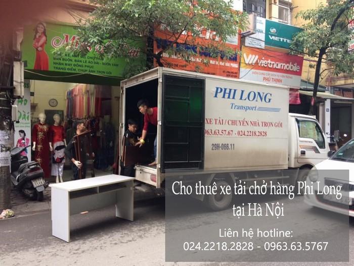 Dịch vụ taxi tải Phi Long tại phố Nguyễn Thị Thập