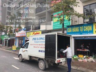 Taxi tải Phi Long tại phố Dương Hà