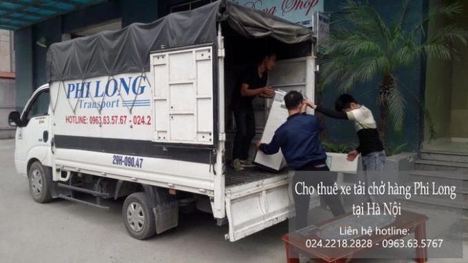 Taxi tải Phi Long tại phố Hồng Tiến