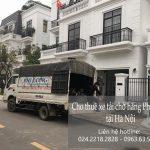 Taxi tải Phi Long tại phố Nguyễn Mậu Tài