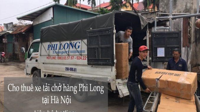 Dịch vụ cho thuê xe tải tại phố Nguyễn Trãi 2019