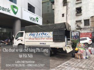 Taxi tải Phi Long tại phố Đỗ Nhuận