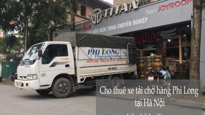 Dịch vụ taxi tải Phi Long tại phố Khuất Duy Tiến