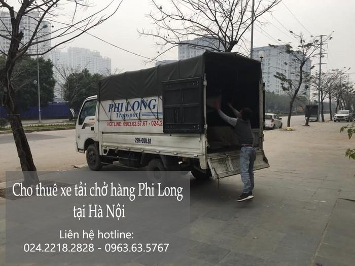 Dịch vụ taxi tải Phi Long tại phố Khúc Thừa Dụ