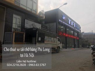 Taxi tải Phi Long tại phố Lãn Ông