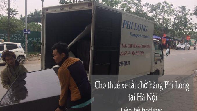 Dịch vụ taxi tải Phi Long tại phố Phan Văn Trị