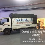 Taxi tải Phi Long giảm giá 20% cho khách hàng tại Hà Nội trong tháng 5 năm 2019.