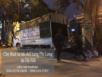 Dịch vụ taxi tải Phi Long tại phố Hàng Bút