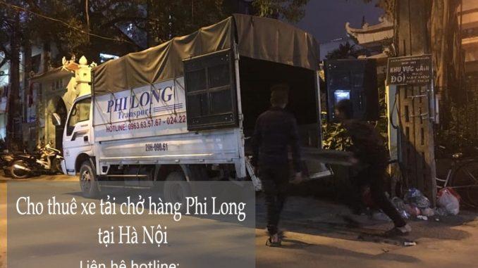 Dịch vụ taxi tải Phi Long tại phố Hàng Rươi
