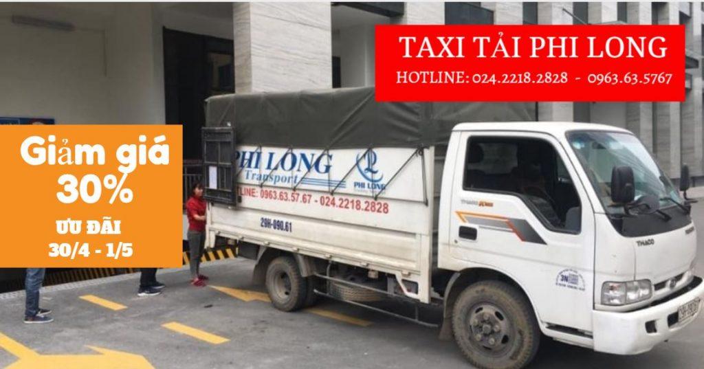 Taxi tải Phi Long tại phố Nhà Hỏa