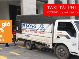 Taxi tải Phi Long tại phố Nguyễn Văn Tố