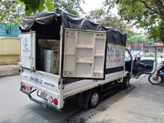 Dịch vụ taxi tải Phi Long tại phố Tôn Quang Phiệt