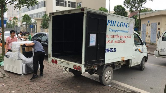 Taxi tải Phi Long tại phố La Nội