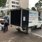 Taxi tải Phi Long tại phố Yersin