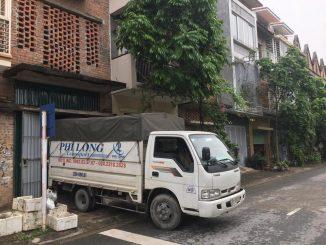 Taxi tải Phi Long tại phố Quang Trung