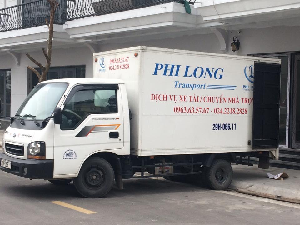 Dịch vụ taxi tải Phi Long tại phố Nguyễn Thị Minh Khai