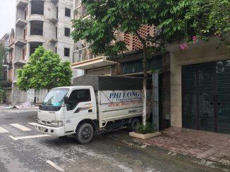 Dịch vụ taxi tải Phi Long tại phố Nguyễn Trực