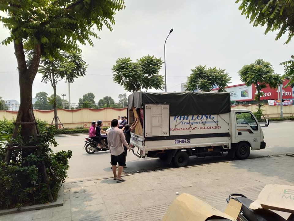 Cho thuê xe tải chuyển nhà giá rẻ tại khu Đô thị Times City