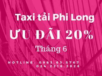 Dịch vụ taxi tải Phi Long tại phố Phan Huy Chú