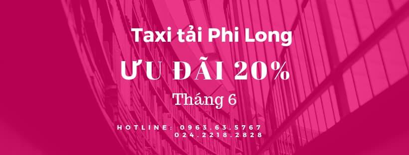 Dịch vụ taxi tải Phi Long tại phố Trưng Nhị
