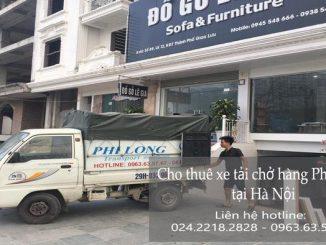 Dịch vụ taxi tải tại đường Bắc Linh Đàm