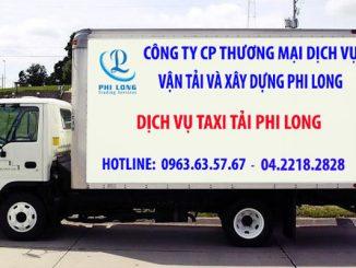 Dịch vụ taxi tải Phi Long tại đường Kim Giang