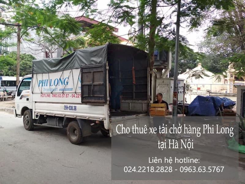 Dịch vụ taxi tải Phi Long tại phố Tam Đa