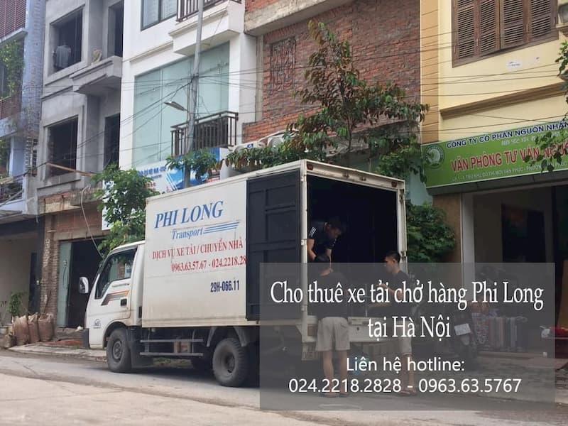 Dịch vụ taxi tải Phi Long tại phố Trích Sài