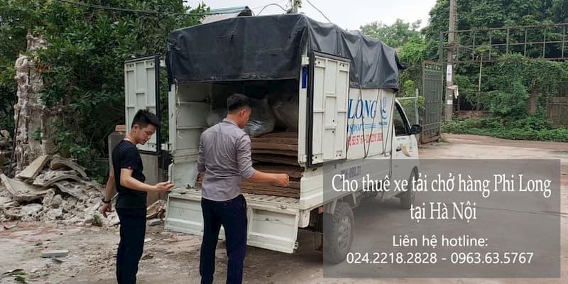 Dịch vụ taxi tải Phi Long tại phố Thượng Thụy