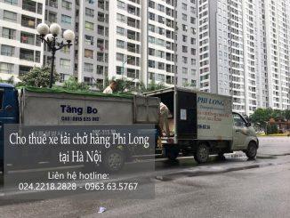 Phi Long taxi tải tại phố Đàm Quang Trung