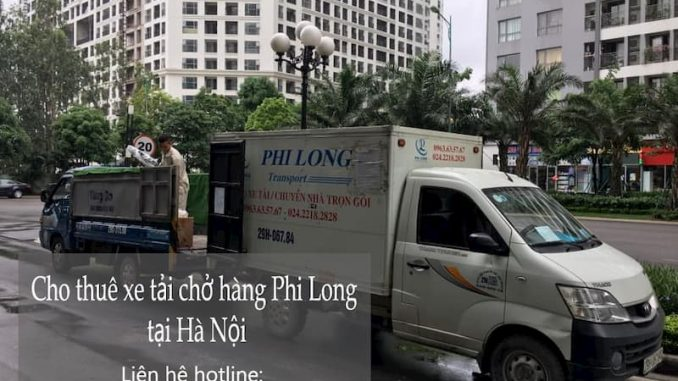 Dịch vụ taxi tải Phi Long tại phố Quang Tiến