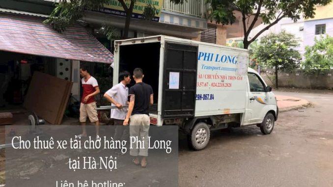 Dịch vụ taxi tải Phi Long tại phố Hàng Chĩnh
