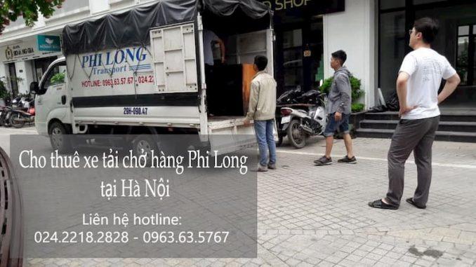 Dịch vụ taxi tải Phi Long tại phố Nguyễn Đổng Chi
