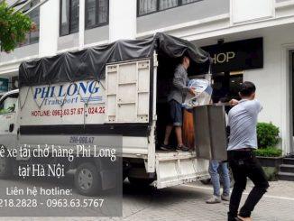 Dịch vụ taxi tải Phi Long tại phố Văn Tiến Dũng