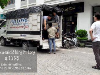 Dịch vụ taxi tải Phi Long tại phố Cương Kiên