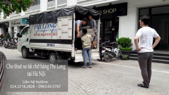 Dịch vụ taxi tải Phi Long tại phố Đình Quán