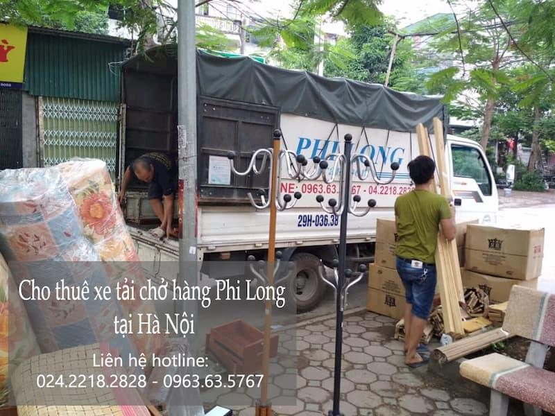 Dịch vụ taxi tải Phi Long tại phố Cao Xuân Huy