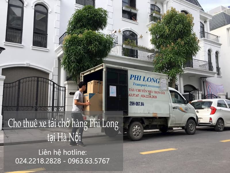 Dịch vụ taxi tải Phi Long tại phố Nguyễn Xuân Nguyên