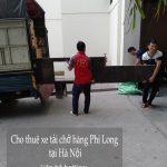 Dịch vụ taxi tải Phi Long tại phố Nguyễn Bặc